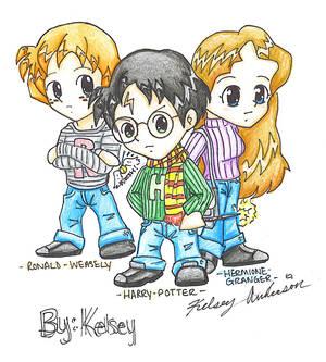 Harry Potter Chibis