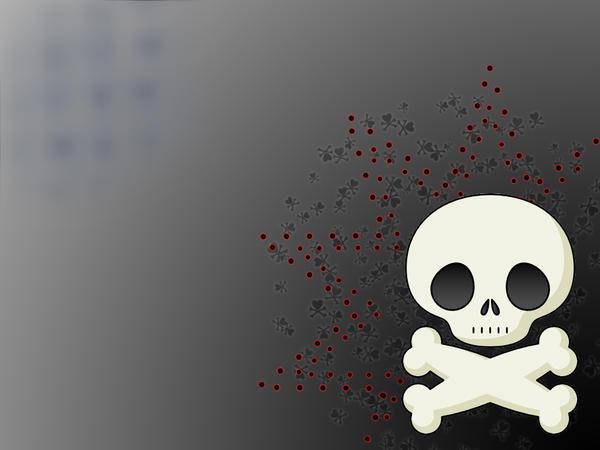 Skull Wallpaper By Darkrevenge1319