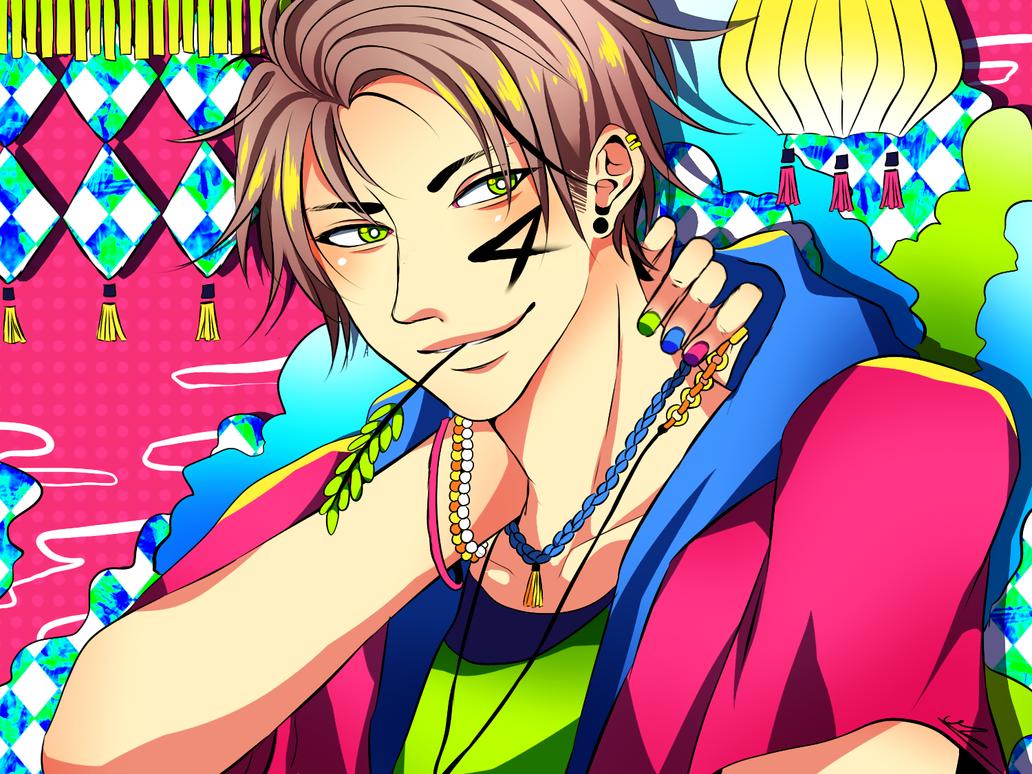 Random boy by AkaMikaa