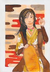 Maneki Neko by Saimiri