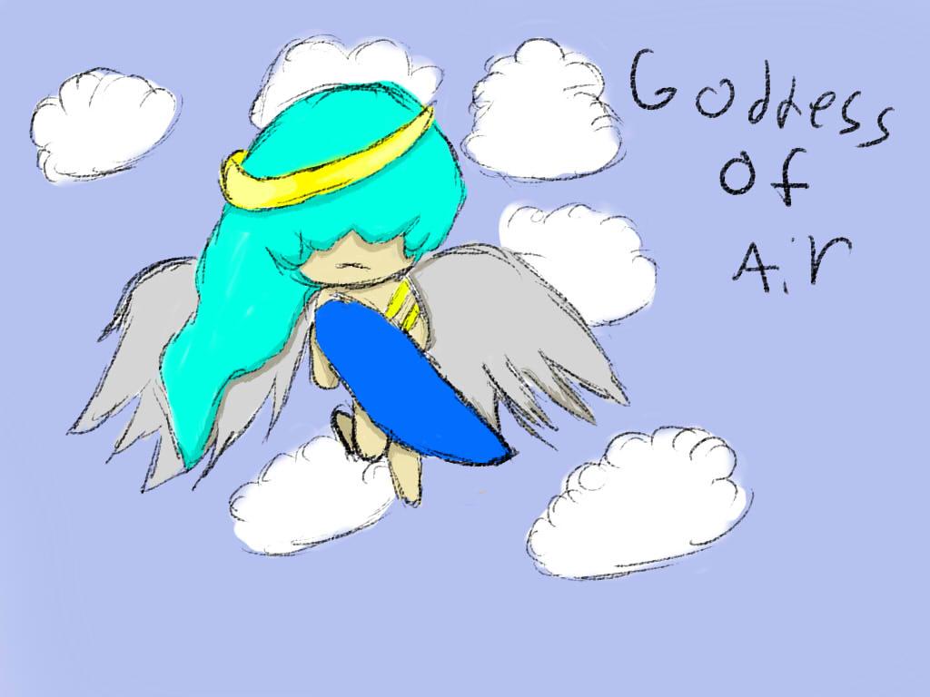 Goddes of Air-OC by CHrysanthemumz