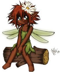 Elf Girl - Coloring by Spheksophobia
