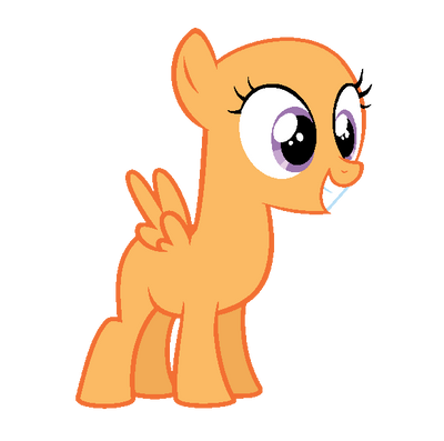 My Little Pony Base Pegasus Filly
