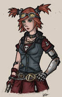 Mechromancer Gaige - Borderlands 2 by N1ghtDrag0n