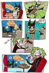 Joker's Bat Sign Prank
