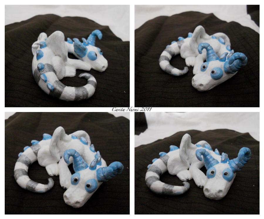 Snow dragon by corpitin