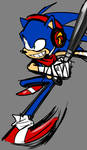Completely Innocent Drawing Of Boom Sonic