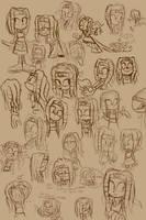 Mystical Miss Tikal by knockabiller