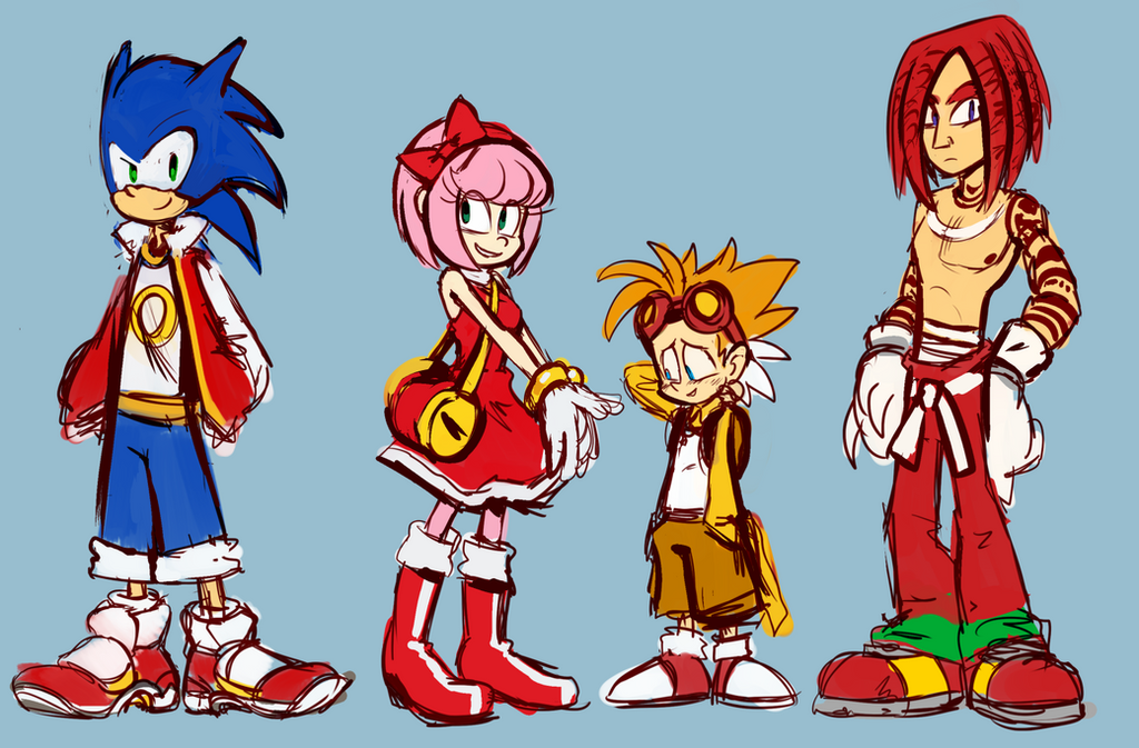Knuckles the hedgehog human form