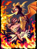 Fuego Magico by knockabiller