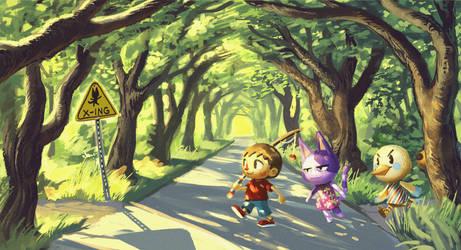 Animal Crossing by knockabiller