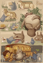 Totoro II: The Second One by knockabiller