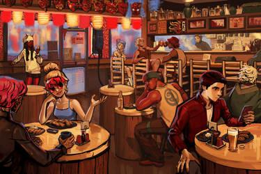 Oni Bar by knockabiller