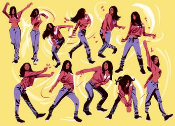 Girldance by knockabiller