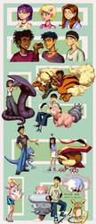 6teen and Pokemon by knockabiller