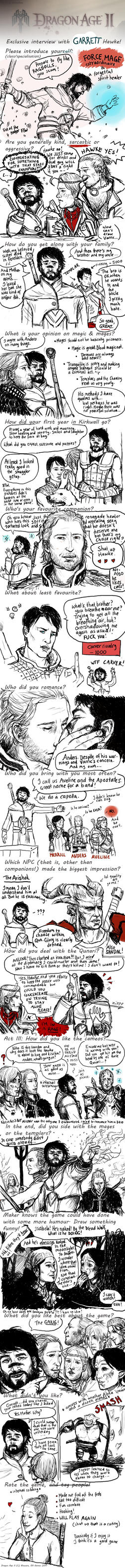 The Massive Dragon Age 2 Meme (SPOILERS) by IdaHarra