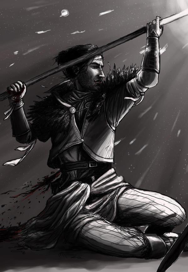 Blood mage by IdaHarra