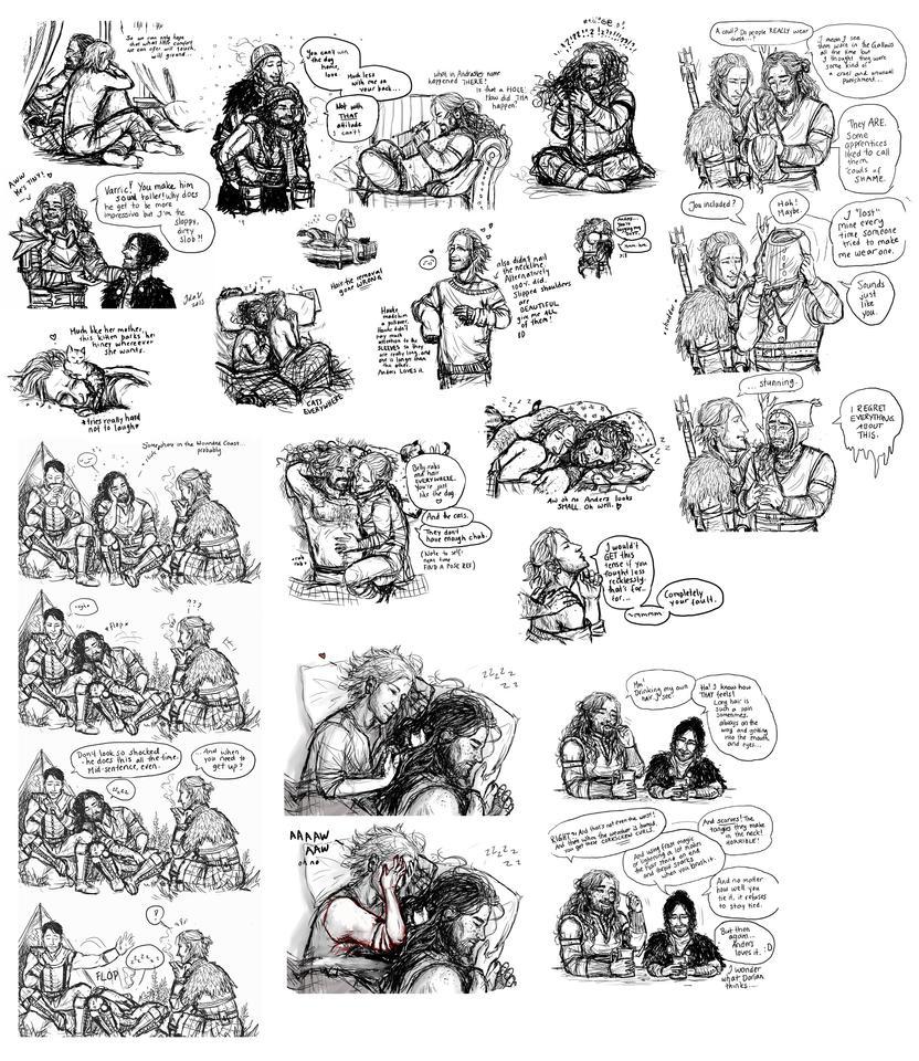 The unholy scribble dump by IdaHarra