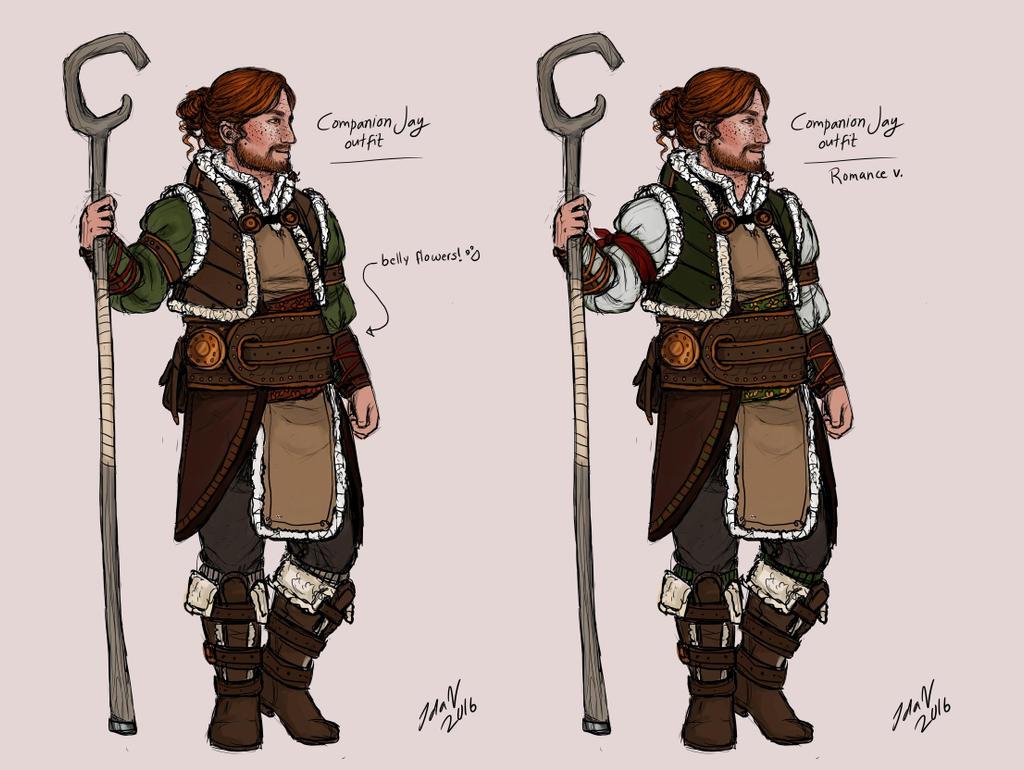 Companion Jay outfits by IdaHarra