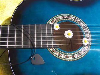 Pick and Guitar