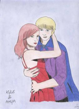 Kyle e Anya