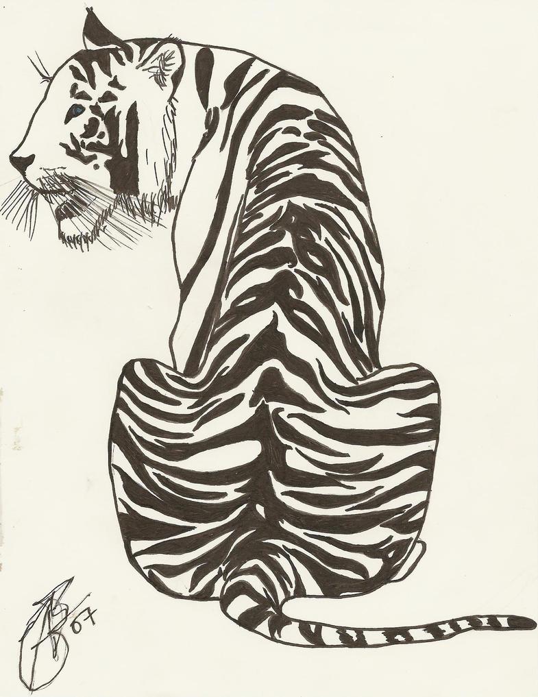 White Tiger by megatorg