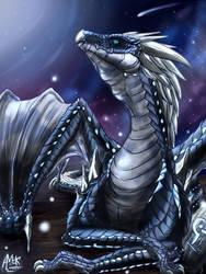 Neptune Dragon by MarAlmok