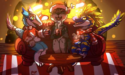 Navidad furBros by MarAlmok