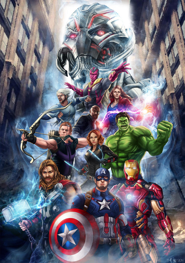 Avengers Age Of Ultron By Iloegbunam On Deviantart: Age Of Ultron By AgusSW On DeviantArt