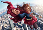 Supergirl Fly