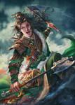 Total War Three Kingdoms_Zheng Jiang by AgusSW