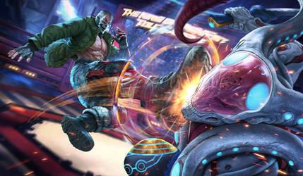 Bryan Fury - Tekken 7 by AgusSW