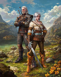 The Witcher 3 Wild Hunt The Wolf and The Swallow