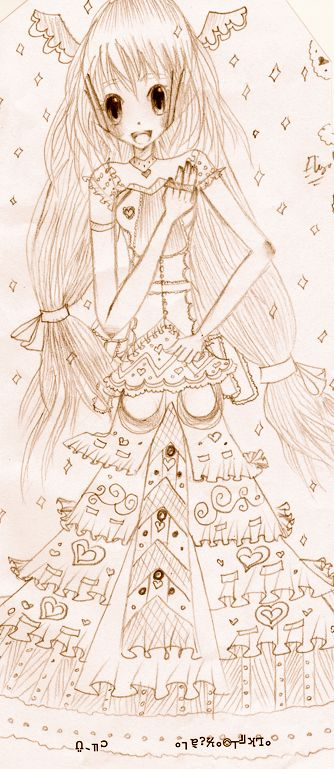 Ambient Princess Sketch by SHikimi-Lolita
