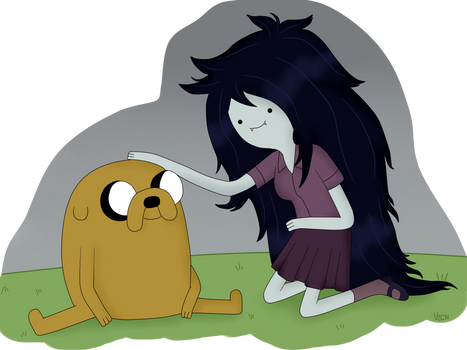Time Sandwich: Jake and Marceline