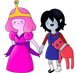Request: Little Peebles and Little Marcy