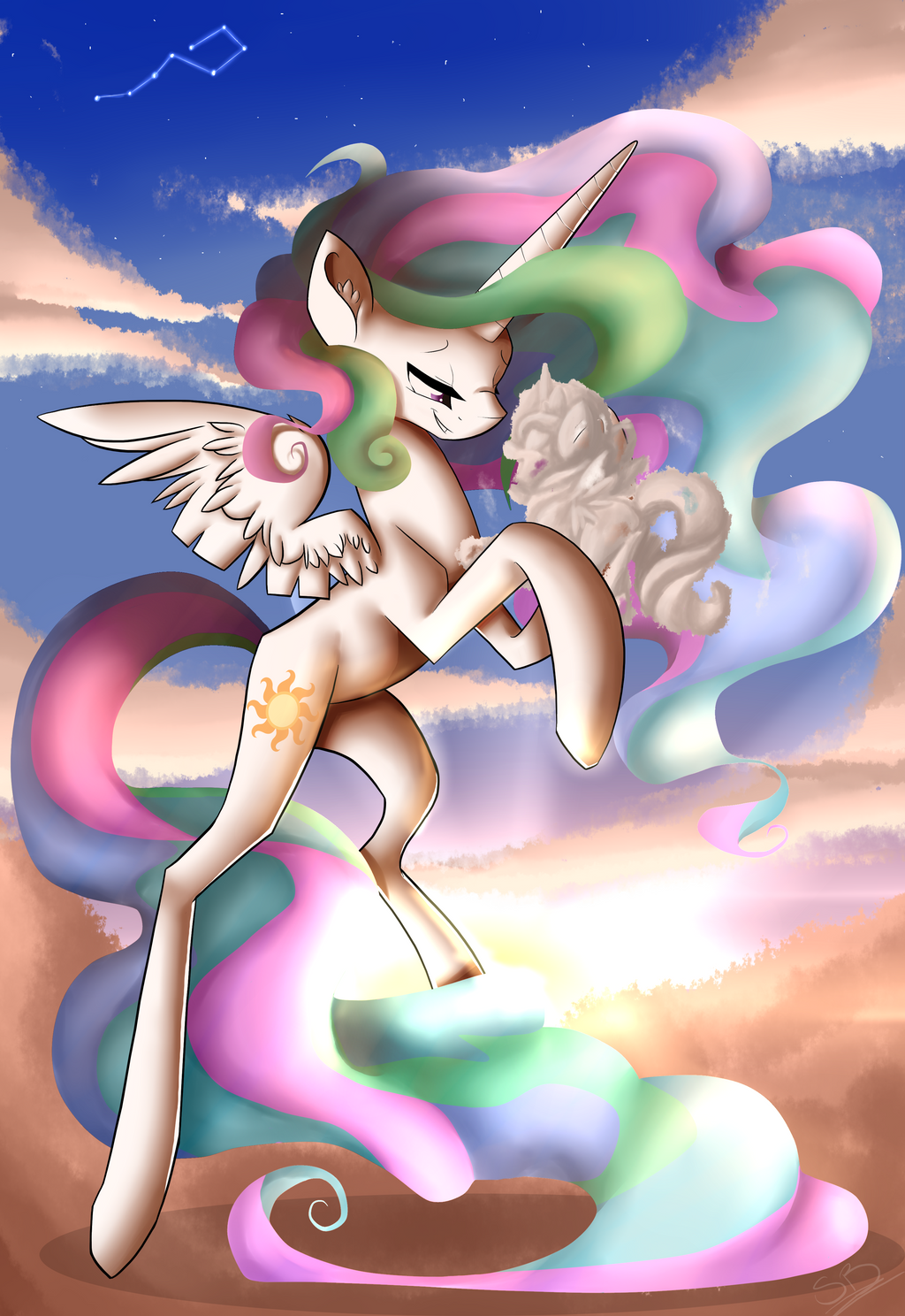 Cloud Chaser by SquigyButt