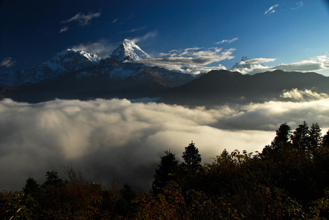 Blanket of Clouds by yuvi2