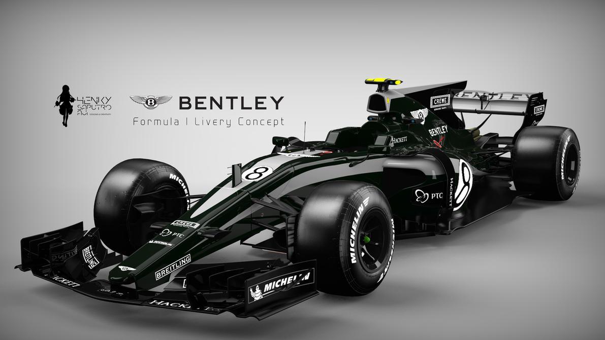 Bentley Formula 1 Livery Concept By Henkysa On Deviantart