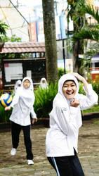 Watch out the ball by sasyaaaaa