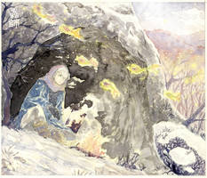 Mushishi Snowcave by HydroENKI