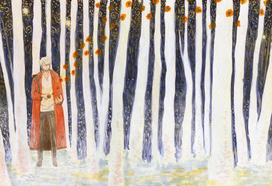 Mushishi Whiteforest by HydroENKI