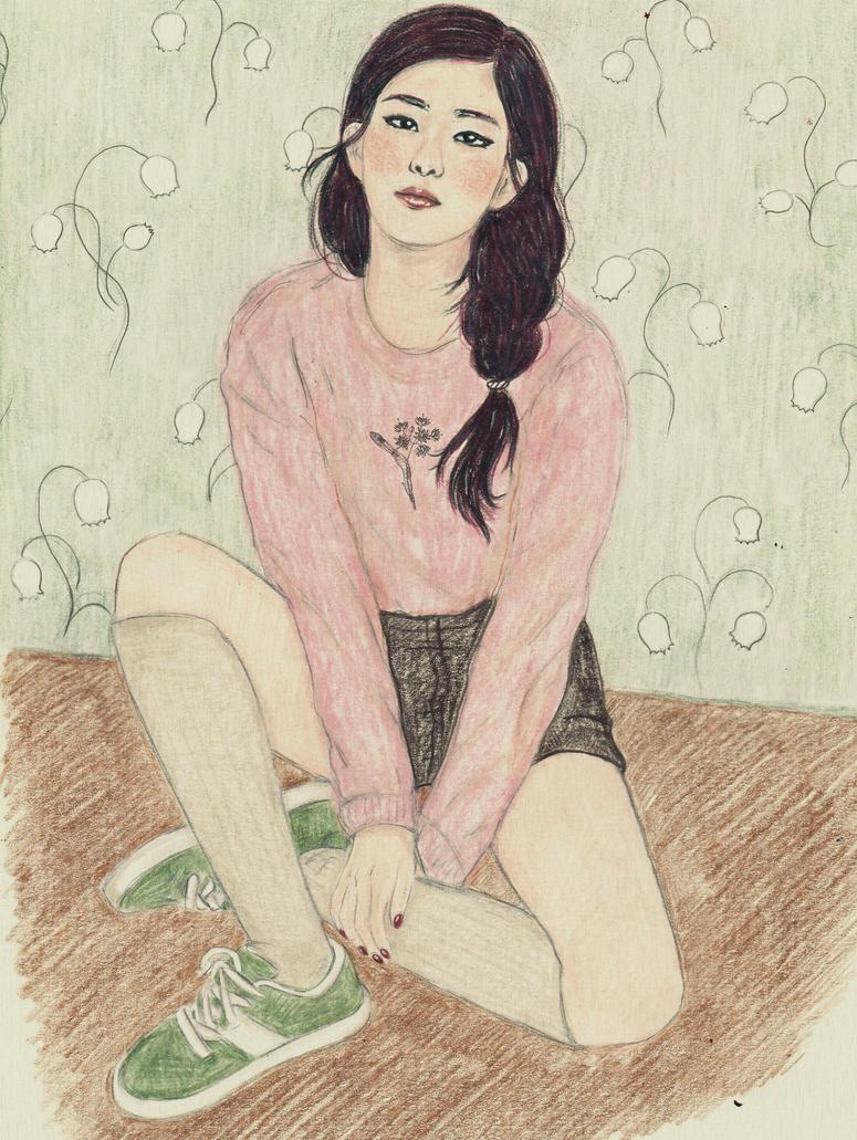 Pastel Seulgi by DeadAlliandra