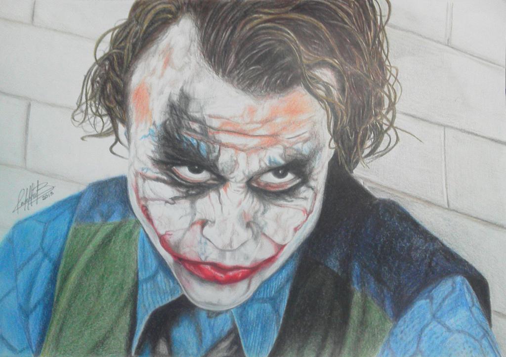 Joker Color by AndresBellorin-ART on DeviantArt