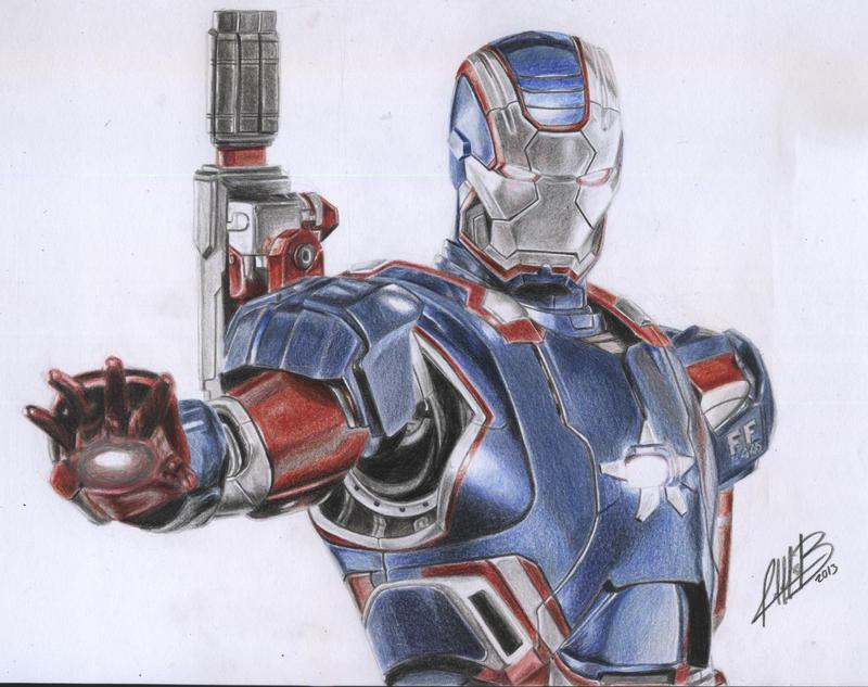 iron patriot by andresbellorin art on deviantart