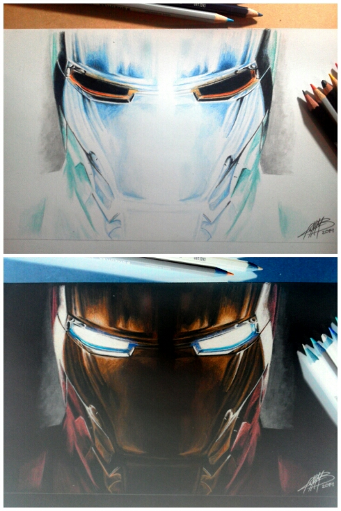 Iron man Inverted by AndresBellorin-ART
