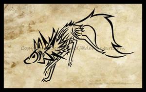 Lugarugan Tattoo Design by Jester-Wolf