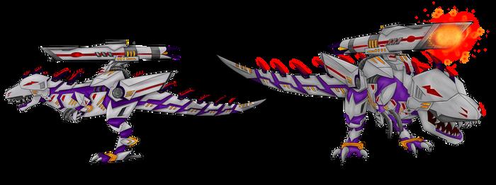 COM - Armoured T-rex
