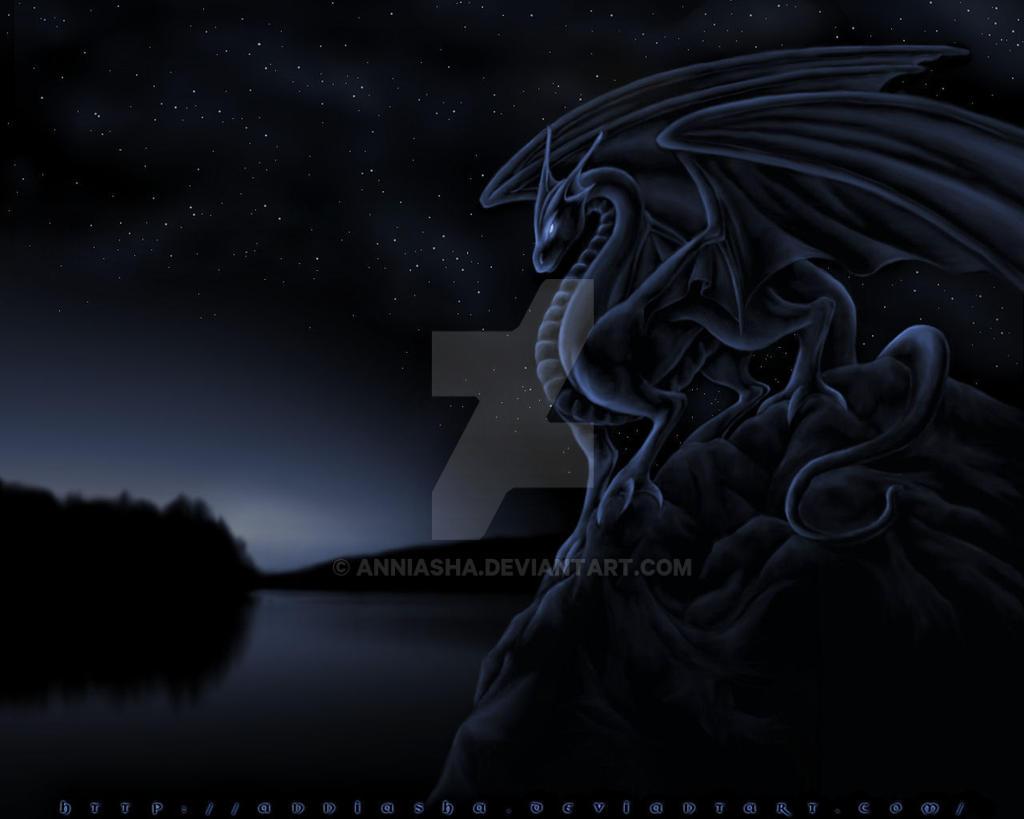 Midnight Dragon by Anniasha