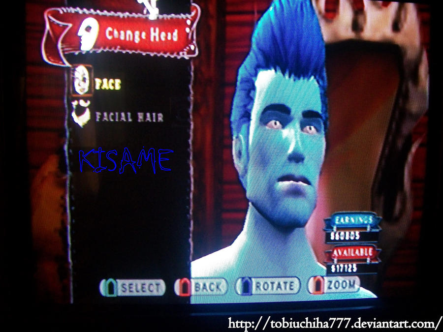 Kisame-Guitar Hero by tobiuchiha777